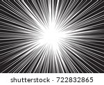 abstract radial speed zoom... | Shutterstock .eps vector #722832865