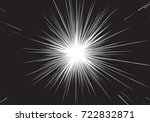 abstract radial speed zoom... | Shutterstock .eps vector #722832871