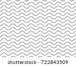 texture of waves | Shutterstock .eps vector #722843509