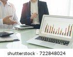 business analysis concept.... | Shutterstock . vector #722848024