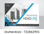 horizontal vector background... | Shutterstock .eps vector #722862901