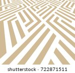 the geometric pattern with... | Shutterstock . vector #722871511