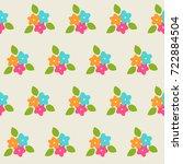 vector seamless pattern. bunch...   Shutterstock .eps vector #722884504