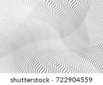 abstract twisted background.... | Shutterstock .eps vector #722904559