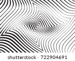 abstract twisted background.... | Shutterstock .eps vector #722904691