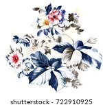flowers bring pure and fresh... | Shutterstock . vector #722910925