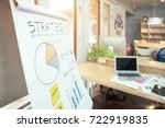 strategy business plan write on ...   Shutterstock . vector #722919835