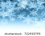 snowflake texture  decorative... | Shutterstock . vector #722935795