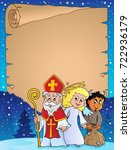 saint nicholas day thematic... | Shutterstock .eps vector #722936179