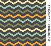 seamless chevron zigzag pattern ... | Shutterstock .eps vector #722964631