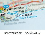 isla del moral. spain | Shutterstock . vector #722986339