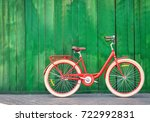 Stylish New Bicycle Near Color...