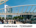 lisbon  portugal   august 10 ... | Shutterstock . vector #723006889
