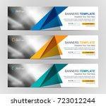 abstract web banner design... | Shutterstock .eps vector #723012244