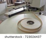 roll edges. edge banding... | Shutterstock . vector #723026437