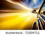 night traffic shoot from the... | Shutterstock . vector #72304711