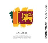 flag of sri lanka | Shutterstock .eps vector #723073051