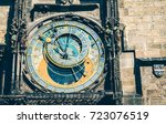 Old Astronomical Clock In ...