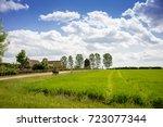 museum of the mazovian village... | Shutterstock . vector #723077344