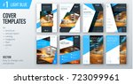 set of business cover design... | Shutterstock .eps vector #723099961