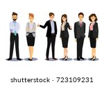 business team  group of... | Shutterstock .eps vector #723109231