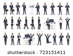 business man  male office... | Shutterstock .eps vector #723151411