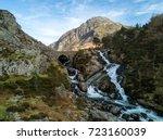 Ogwen Falls Gwynedd Snowdonia...