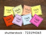 thank you abstract  ... | Shutterstock . vector #723194365