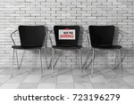 modern simpne office chairs one ... | Shutterstock . vector #723196279