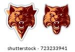 wildcat logo   cat head...