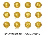 cryptocurrency | Shutterstock .eps vector #723239047