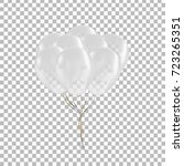 vector realistic isolated white ... | Shutterstock .eps vector #723265351
