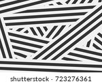 black and white contrast... | Shutterstock .eps vector #723276361