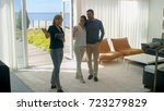 professional real estate agent...   Shutterstock . vector #723279829