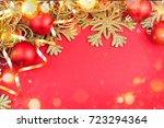 greeting card | Shutterstock . vector #723294364