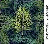 vector seamless pattern of... | Shutterstock .eps vector #723294805