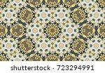 seamless circular vector... | Shutterstock .eps vector #723294991