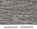 close up of jersey fabric... | Shutterstock . vector #723301495