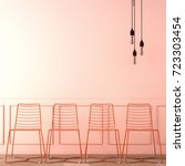 interior design for reception... | Shutterstock . vector #723303454