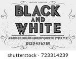 script handcrafted vector...   Shutterstock .eps vector #723314239