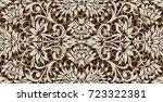 amazing paisley pattern | Shutterstock .eps vector #723322381