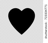 heart vector icon eps 10.... | Shutterstock .eps vector #723334771