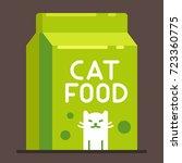 cat food bag. pet toys...   Shutterstock .eps vector #723360775