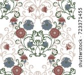 Floral Rapport For Wallpaper O...