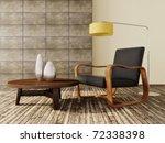 modern interior room with nice... | Shutterstock . vector #72338398