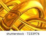 abstract molecular structure | Shutterstock . vector #7233976