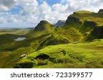 Landscape View Of Quiraing...
