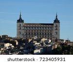 toledo  spain | Shutterstock . vector #723405931