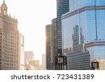 chicago  il  sept. 25  2017  a...   Shutterstock . vector #723431389