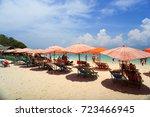phi phi island  krabi  thailand ... | Shutterstock . vector #723466945